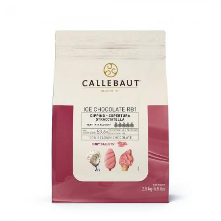 Zmrzlinová čokoláda rubínová Ice RB1 2,5 kg