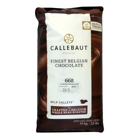 Čokoláda Callebaut mléčná 668NV 33,6% kakaa, 10 kg