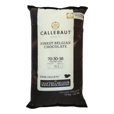 Čokoláda Callebaut hořká 70-30-38NV 70,5% kakao, 10 kg