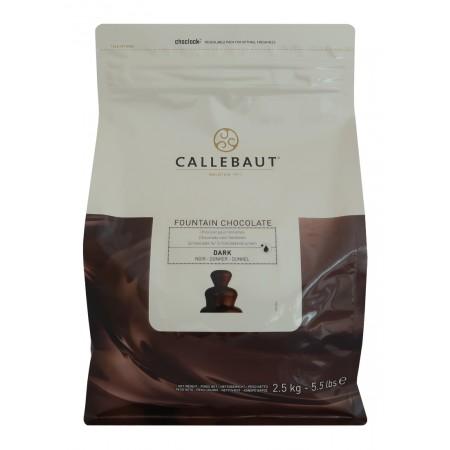 Hořká čokoláda Callebaut pro fontány 2,5 kg