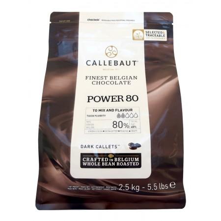 Čokoláda horká 80-20-44NV, 80 % kakao, 2,5 kg