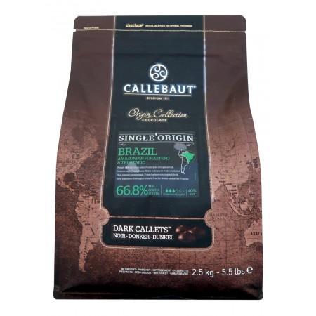 Čokoláda Callebaut Brazil 66,8% kakao, 2,5 kg