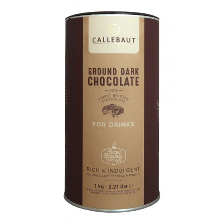 Tmavá Ground Chocolate Callebaut