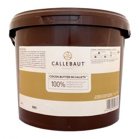 Kakaové máslo Callebaut 3 kg