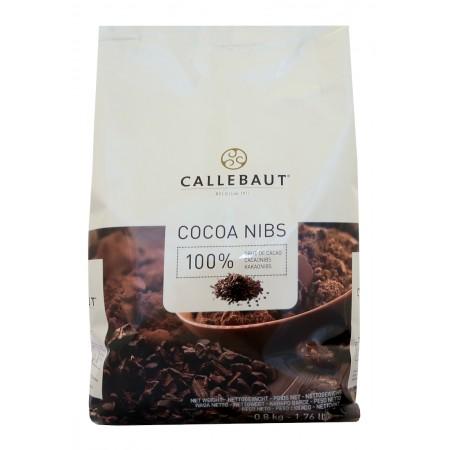 Kakaové boby Callebaut drcené, pražené 800 g