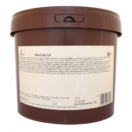 Jemná lískooříšková praline Callebaut 5 kg