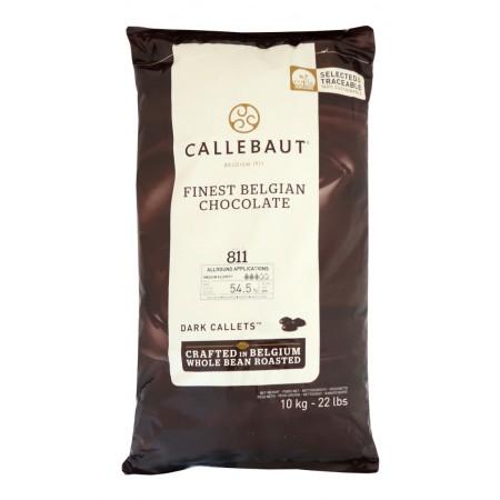 Čokoláda Callebaut hořká 811NV 54,5 % kakao, 10 kg