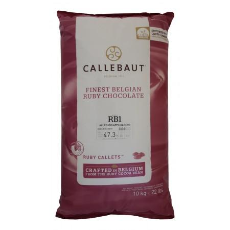 Čokoláda Callebaut červená RUBY RB1 10 kg