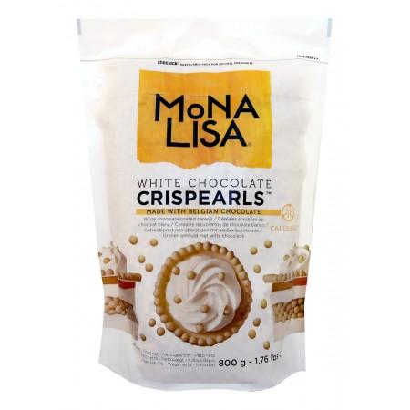 Guľky Crispearls biele, 800 g