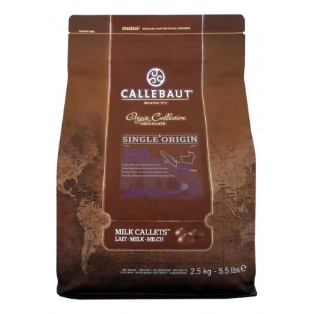 Čokoláda Callebaut Jáva 33,1 % kakao, 2,5 kg