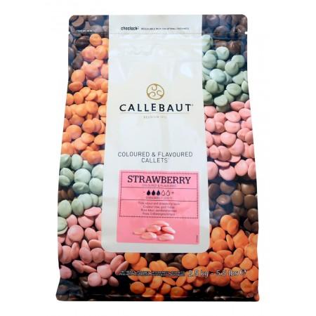 Callebaut s jahodovou příchutí 2,5 kg