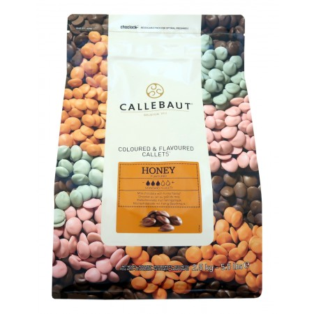 Čokoláda Callebaut s medem 2,5 kg