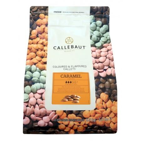 Čokoláda Callebaut s karamelem 2,5 kg