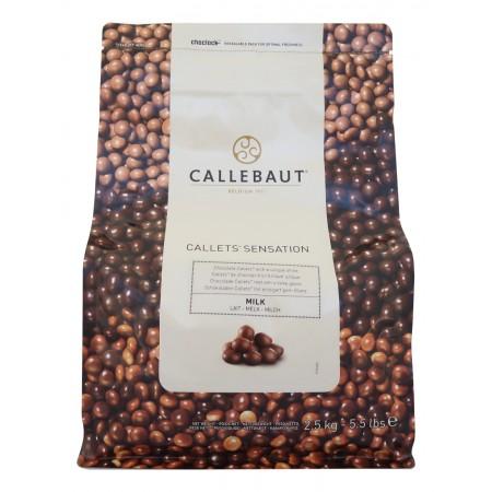 Callebaut Callets™ Sensation mléčné 2,5 kg