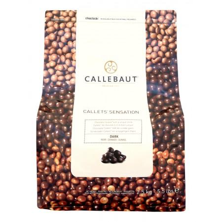 Callebaut Callets™ Sensation hořké 2,5 kg