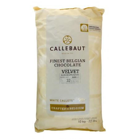 Čokoláda biela Velvet 10 kg