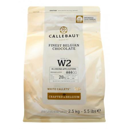 Čokoláda biela W2NV 2,5 kg