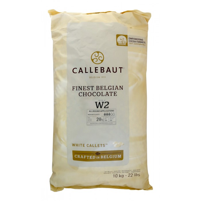 Čokoláda Callebaut bílá W2NV 10 kg