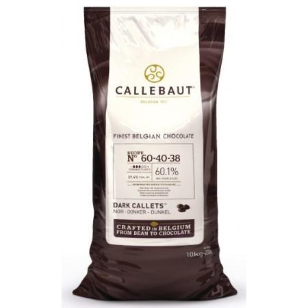 Čokoláda Callebaut hořká 60-40-38NV 60,1% kakao, 10 kg