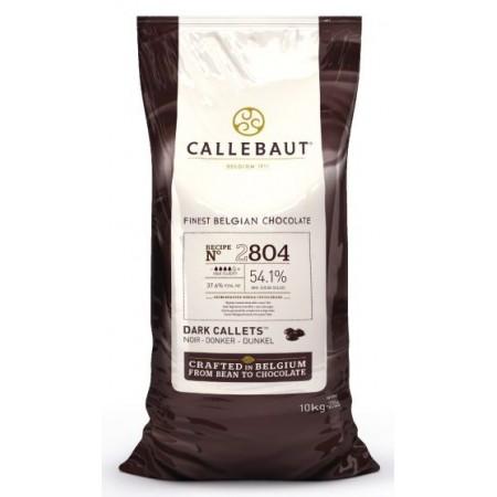Čokoláda Callebaut hořká 2804NV 54,1% kakao, 10 kg