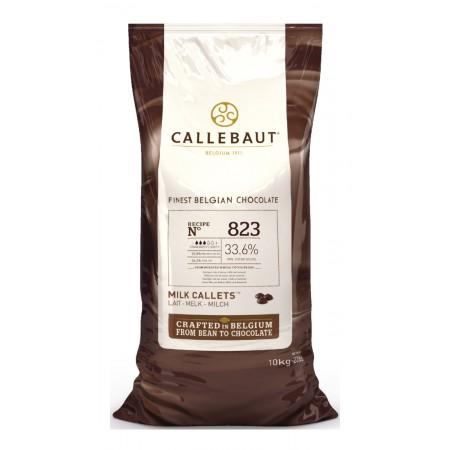 Čokoláda mliečna 823NV, 33,6% kakaa, 10 kg
