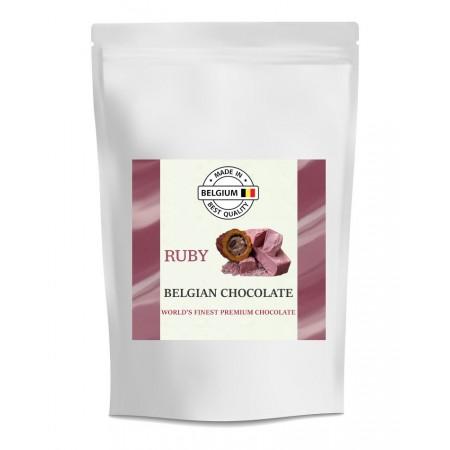 Čokoláda Callebaut červená RUBY, 400 g