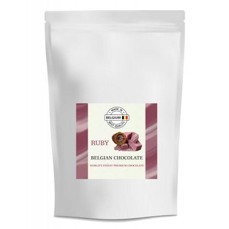 Čokoláda Callebaut červená RUBY 1 kg