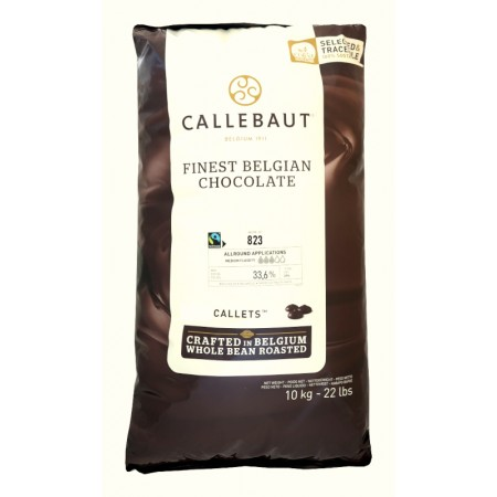 copy of Čokoláda horká Fairtrade 811NV, 54,5 % kakao, 10 kg