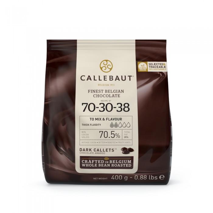 Čokoláda Callebaut hořká 70-30-38 70,5% kakao, 400 g